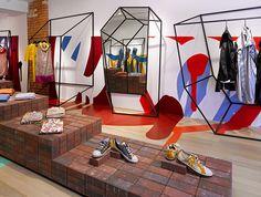 Retail Design | Shop Design | Fashion Store Interior Fashion Shops | +Tong Tong Annie Aime Shop
