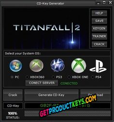 Titanfall 2 CD Key Generator (Keygen)