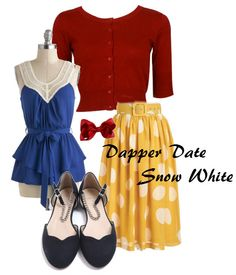 Snow White Dapper Day Outfit by lovealee