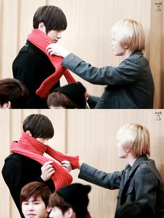 Myungjong Infinite  every step of the way.© made in L | do not edit/crop/remove watermark. | via Tumblr