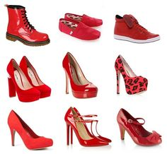 Red TOES Day: red shoes for Comic Relief | Shoewawa