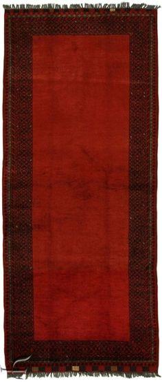Central Asian Rug - Khalmohammadi Carpet  Width80.00 cm (2,62 Feet) Lenght194.00 cm (6,36 Feet)