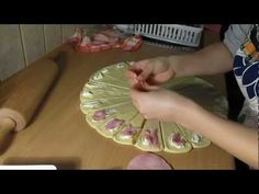(13) How to make homemade croissant with cheese and salami [HD] - YouTube