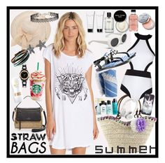 """Dive into summer"" by ziandra on Polyvore featuring Billabong, Kate Spade, Oye Swimwear, Bobbi Brown Cosmetics, New Look, Bling Jewelry, O Hui, Bumble and bumble, Karl Lagerfeld and Beats by Dr. Dre"
