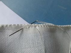 A number of people have asked how I did the hems on my January TAST samples. Firstly I have to say that this type of hem takes a bit of time to. Embroidery Sampler, Hardanger Embroidery, Embroidery Stitches, Embroidery Patterns, Hand Embroidery, Stitch Patterns, Hem Stitch, Back Stitch, Lilo Og Stitch