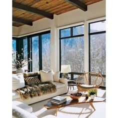 Mountain High Aerin Lauder's Aspen Home