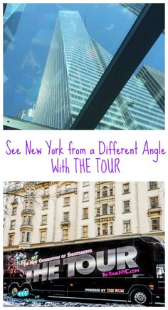 See New York from a Different Angle With THE TOUR #NYC #NYCwithkids #kids @TheRideNYC