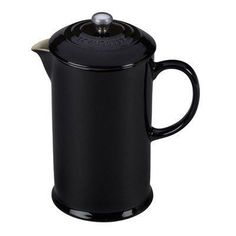 Le Creuset Stoneware 27-Ounce French Press, Caribbean