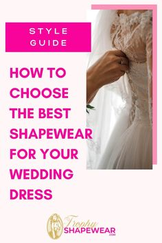 How To Choose The Best Shapewear For Your Wedding Dress Wedding Dress Types, Best Wedding Dresses, Hip Shaper, Shapewear For Wedding Dress, Wedding Underwear, Different Skin Tones, Full Body Suit, Dress Cuts, Types Of Dresses