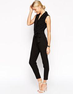 ASOS | ASOS Tailored Tux Jumpsuit at ASOS
