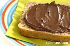 Skinny nutella spread - 1 cup hazelnuts, 3/4 cup chocolate chips, 3/4 cup coconut or almond milk, 1 1/2 T honey, pinch of sea salt ...
