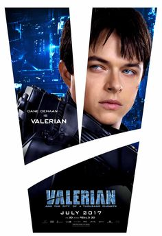 Valerian and the City of a Thousand Planets - Dane DeHaan is Valerian