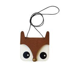 Mini Fox Purse   La Lisette