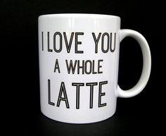 Coffee Mug Funny Coffee Mug Latte Cup Ceramic Coffee by JandAWares