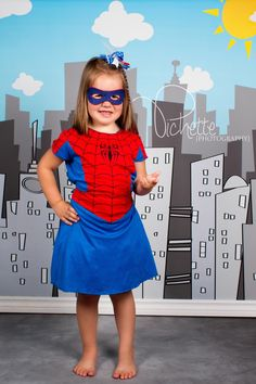MINI PHOTO SESSION GIRLS SUPER HEROES | Pichette Photography | Capturing Life My Way