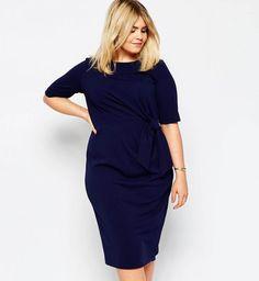 Robe pour les femmes rondes : robe Asos Curve