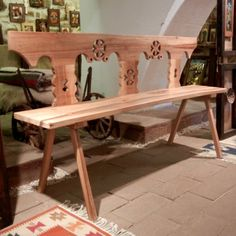 Romanian traditional crafts, traditional handmade, traditional crafts by Spoonman , romanian handicrafts Outdoor Furniture, Outdoor Decor, Traditional Art, Entryway Tables, Arts And Crafts, Restaurant, Projects, Folk, Artist