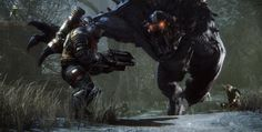 Evolve is the best game of the Gamescom 2014