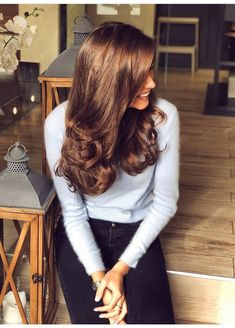Discover recipes, home ideas, style inspiration and other ideas to try. Hair Inspo, Hair Inspiration, Pijamas Women, Auburn Hair, Good Hair Day, Brunette Hair, Gorgeous Hair, Dark Hair, Pretty Hairstyles