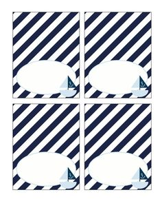 NAUTICAL food labels by simplypchee on Etsy, $4.00