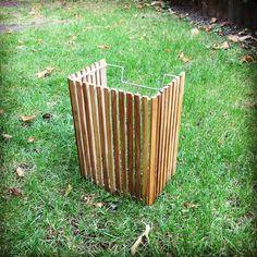 New video (Link in bio). Wall light with recycled teak Wood.#atelierpassiondubois #wood #woodworking #bois #teakwood #teck #light