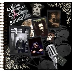 Designer Clothes, Shoes & Bags for Women Ville Valo, Sound Of Music, Sounds Like, Journal Pages, All About Fashion, Marilyn Manson, Polyvore, Freddie Mercury, Design