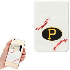 Pittsburgh Pirates Baseball Sticker Wallet - White - $9.99