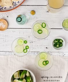 Happy weekend! I just wanted to pop in for a minute and share this easy recipe for the spicy margaritas we served at ourmargarita party a few weeks ago. They were such a big hit – tart, smooth, not too … Go to the recipe...