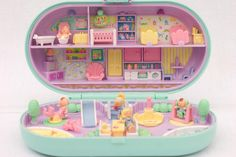 super lucie land: Mes Polly Pocket
