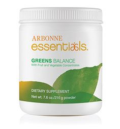 New Arbonne Greens(been waiting for this one) Greens Balance makes this easy with its spectrum of proprietary color blends of whole fruit and vegetable powders — delivering antioxidants, phytonutrients and fiber you need to have a more balanced, healthier diet every day.