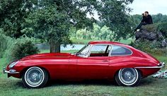 '66 E - Type Jaguar one of the most beautiful cars of all time