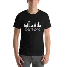 Baltimore Shirt Maryland Home State City Tees State Unique