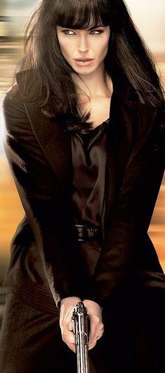 """Angelina Jolie In """"salt"""""""