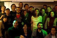 """Con alcuni membri del cast di """"Boris"""" Novembre 2011 #boris #pentatoniclive #fico"""