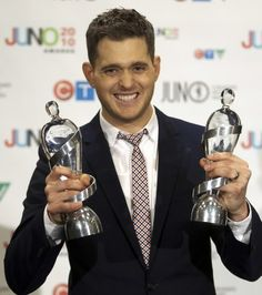 Michael Buble juno awards - He's about to host the next Juno Awards coming up!! Gahhh