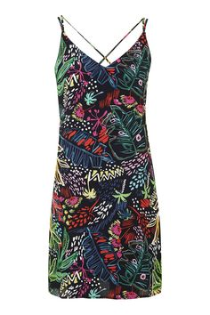 Jungle Print Slip Dress - New In Dresses - New In - Topshop Europe
