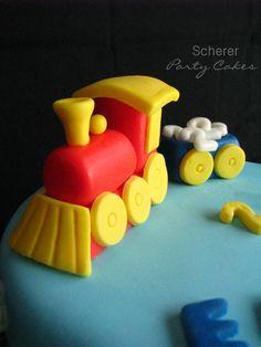Fondant train & Box car!!!!
