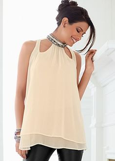 Facebook Share [Pin It]    Add to Wishlist    Off White  Cut Out Studded Blouse   Tame your sexy rebel without compromising the independence of sophisticated punk. VENUS