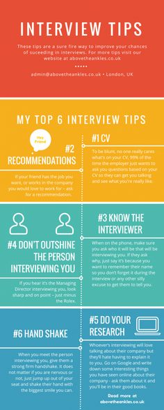 6 Interview tips to help you do well in your interview. For more tips and tricks on doing well in an interview check out our blog post with ten different tips on how to do well in an interview.