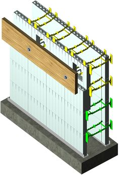 Icf floor ledger attachment simpson icfvl attach ledger for Icf floors