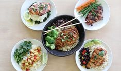 Taking an hour to plan and prep your meals sets you up for those busy days when you need dinner on the table quickly. Here are five healthy chicken marinades that are freezer-friendly and will keep those pizza-dialing fingers in check. Chicken Marinade Recipes, Chicken Marinades, Teriyaki Chicken, Freeze Ahead Meals, Easy Meals, Freezer Meals, Cooking Recipes, Healthy Recipes, Paleo Food