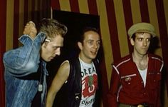 Paul Simonon, Joe Strummer and Mick Jones.