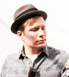 Patrick stump with he facial expressions