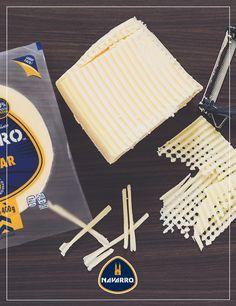 TIP: Utiliza un pela papas para hacer láminas delgadas de Queso para platillos un poco más elaborados.
