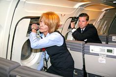 Flight Attendant What We Do | Flight Attendant What We Do removing the emergency exits ..training