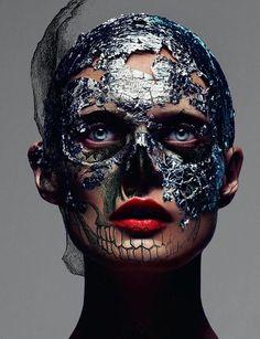 Mert & Marcus - Love #8 Fall 2012  #avant garde #makeup #beauty