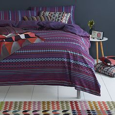 ef3298b8c03047 Buy Margo Selby Hastings Bedding Online at johnlewis.com Housses De Couette  Très Grand Format