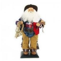 Western themed Christmas ornaments and decor, such as the Cowboy Santa pictured here, are quite popular. Several years ago, my daughter's family...