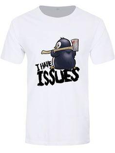 Psycho Penguin T-shirt You Think I/'m Weird Premium Men/'s Black
