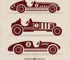 Desenhos carros antigos